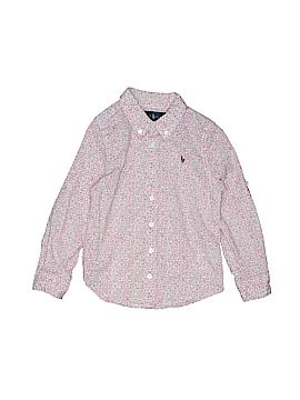 Ralph by Ralph Lauren Long Sleeve Button-Down Shirt Size 4T - 4