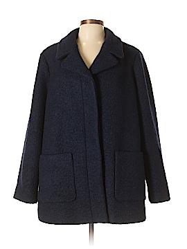 J. Crew Wool Coat Size 20 (Plus)