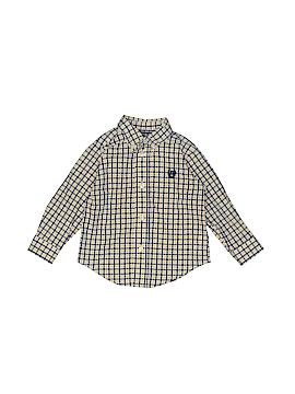 Chaps Long Sleeve Button-Down Shirt Size 18 mo