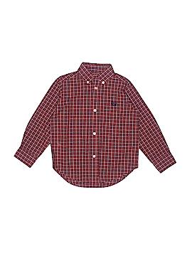Chaps Long Sleeve Button-Down Shirt Size 3/3T