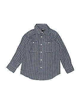 Chaps Long Sleeve Button-Down Shirt Size 4T