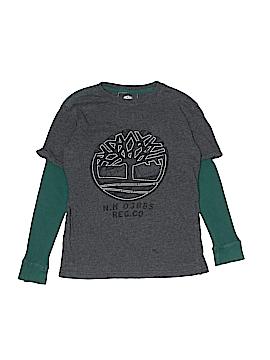 Timberland Long Sleeve T-Shirt Size M (Kids)