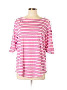 Ann Taylor Factory 3/4 Sleeve T-Shirt Size XL