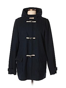Lands' End Wool Coat Size XL