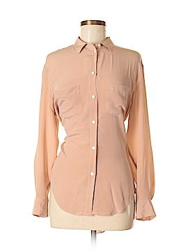 Madewell Long Sleeve Silk Top Size XS