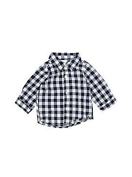 George Long Sleeve Button-Down Shirt Newborn