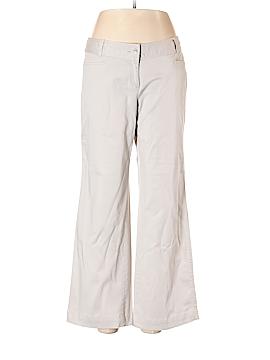 J.jill Khakis Size 12 (Petite)