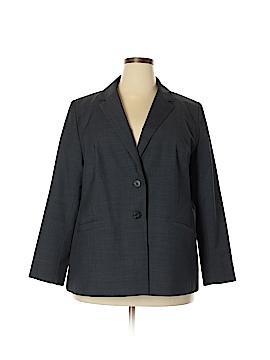 Classiques Entier Wool Blazer Size 20W (Plus)
