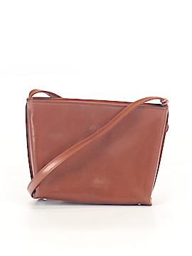 Monsac Leather Crossbody Bag One Size