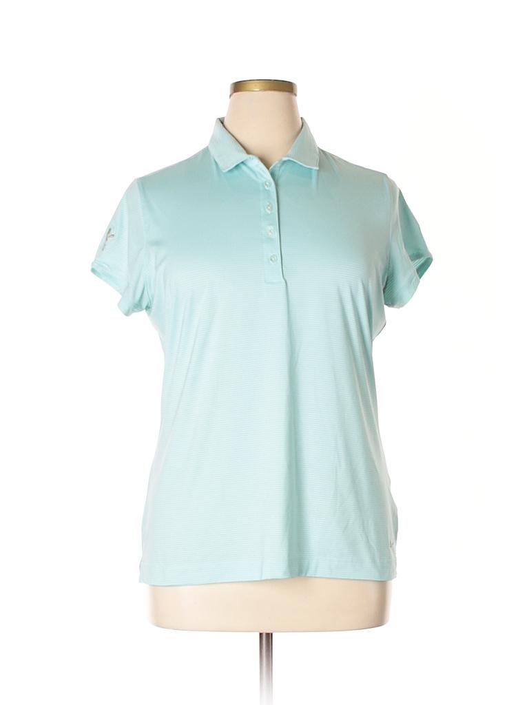 Nike Women Short Sleeve Polo Size XL