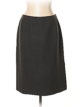 Valentino Miss V Wool Skirt Size 10