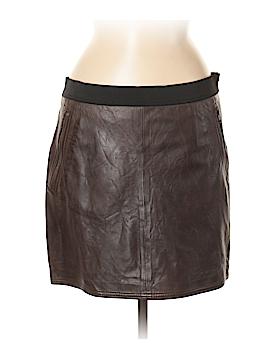 Sandro Leather Skirt Size 40 (FR)