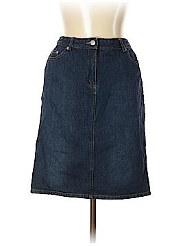 Isaac Mizrahi Denim Skirt Size 10