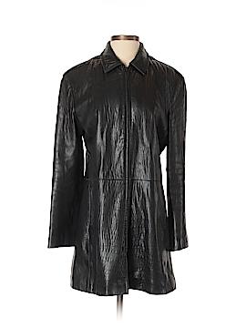 Nicole Miller Leather Jacket Size XS