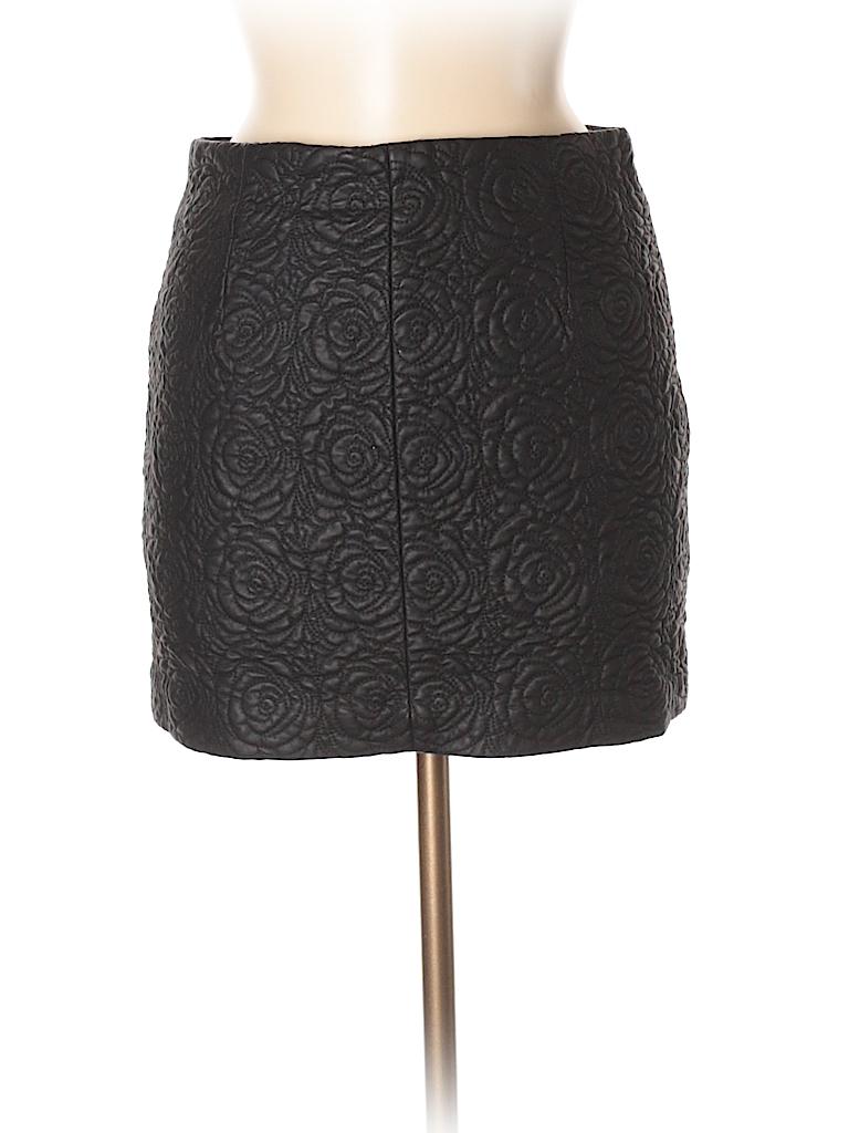 d78484746 Faux Leather Pencil Skirt Zara - raveitsafe