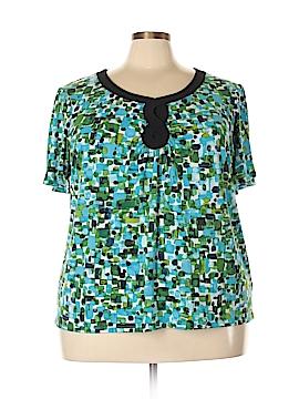 Designers Originals Short Sleeve Top Size 3X (Plus)