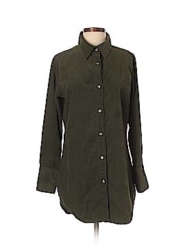 Hanna G. Long Sleeve Button-Down Shirt Size S