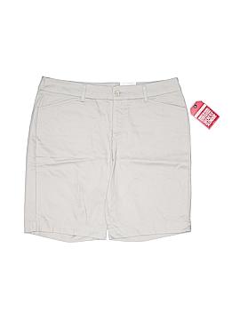 St. John's Bay Khaki Shorts Size 14 (Petite)