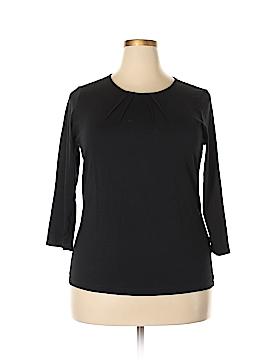 Lands' End Long Sleeve T-Shirt Size 18 (Plus)