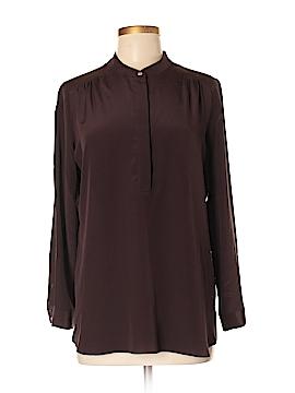 Amanda Uprichard Long Sleeve Silk Top Size M