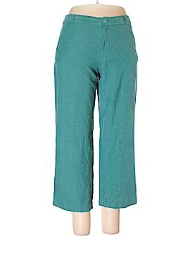 Coldwater Creek Linen Pants Size 12 (Petite)