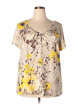 St. John's Bay Short Sleeve T-Shirt Size 3X (Plus)