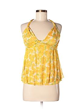 Diane von Furstenberg Sleeveless Silk Top Size M