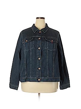 Lands' End Denim Jacket Size 3X (Plus)