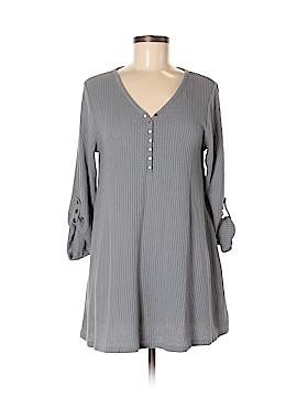 Simply Noelle Long Sleeve Henley Size 8 - 10