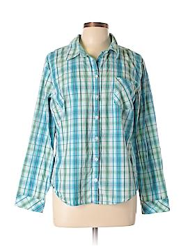 Croft & Barrow Long Sleeve Button-Down Shirt Size XL