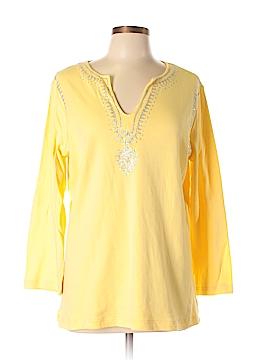 DG^2 by Diane Gilman Long Sleeve Top Size XL