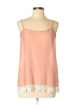 La Fee Verte Sleeveless Silk Top Size M