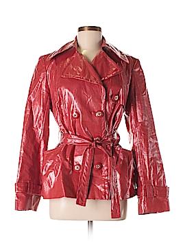 Earl Rutenberg Faux Leather Jacket Size 6