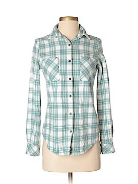Rip Curl Long Sleeve Button-Down Shirt Size XS
