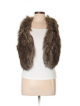 American Eagle Outfitters Faux Fur Vest Size M