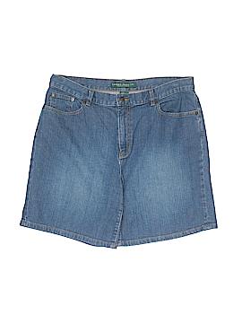 Ralph Lauren Denim Shorts Size 10