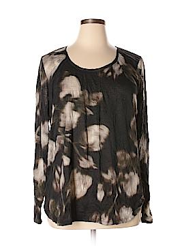 Simply Vera Vera Wang 3/4 Sleeve Top Size XL