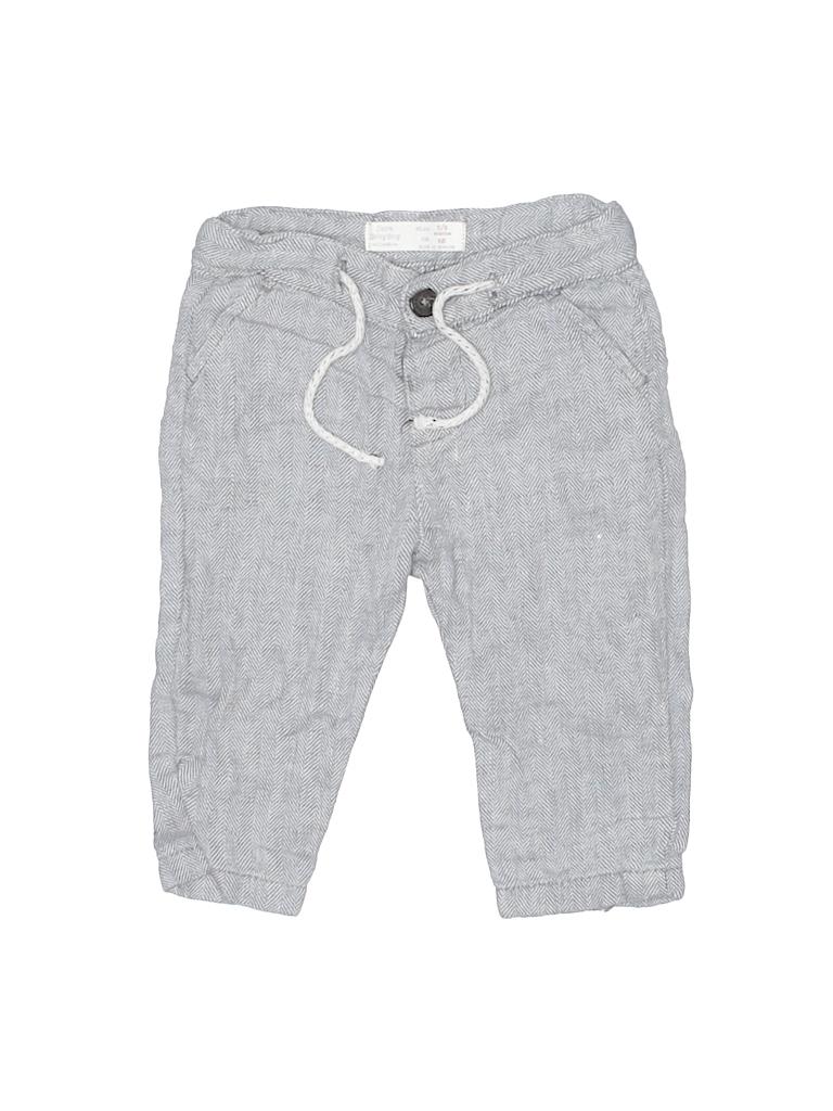 fa32d474a Zara 100% Linen Solid Gray Linen Pants Size 3-6 mo - 72% off | thredUP