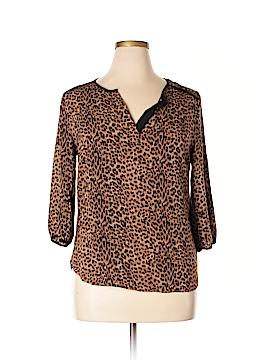 Ava Christine 3/4 Sleeve Blouse Size L
