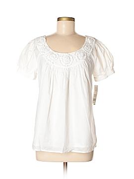 Elle Short Sleeve Blouse Size M