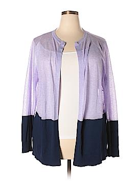 Liz Claiborne Cardigan Size 2X (Plus)