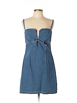Aqua Blues Casual Dress Size L