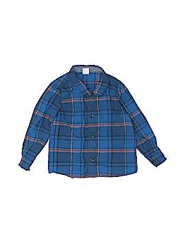 Tucker + Tate Long Sleeve Button-Down Shirt Size 24 mo