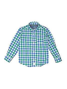 Carter's Long Sleeve Button-Down Shirt Size 5T