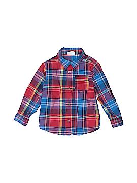 Crazy 8 Long Sleeve Button-Down Shirt Size 3T