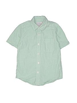 The Children's Place Short Sleeve Button-Down Shirt Size 7 - 8