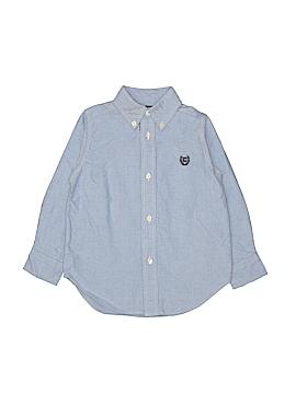Chaps Long Sleeve Button-Down Shirt Size 3T - 3
