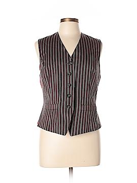 Linda Allard Ellen Tracy Tuxedo Vest Size 8