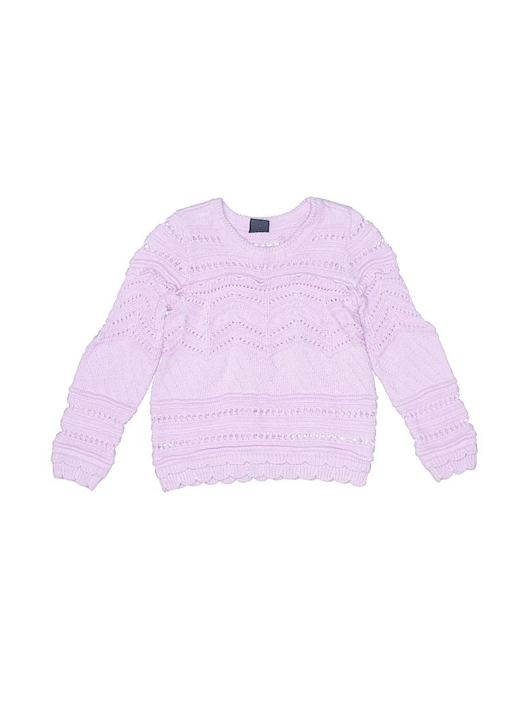 3f0fd132e Baby Gap 100% Cotton Solid Purple Pullover Sweater Size 3 - 60% off ...