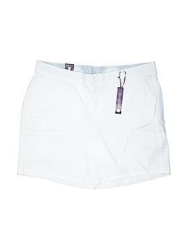 Gloria Vanderbilt Khaki Shorts Size 18W (Plus)